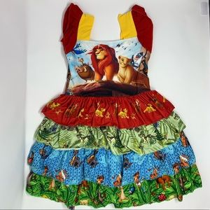 Other - Lion King Boutique Style Dress 2T